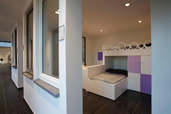 Een kinderslaapkamer op maat met ruimte voor 2