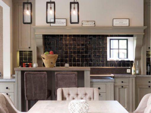 Keuken Landelijk Ramen : Landelijke keukens baens